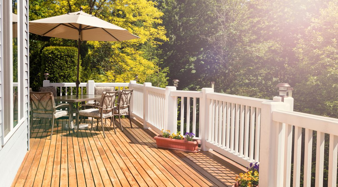 Levenslang genieten van uw houten terras