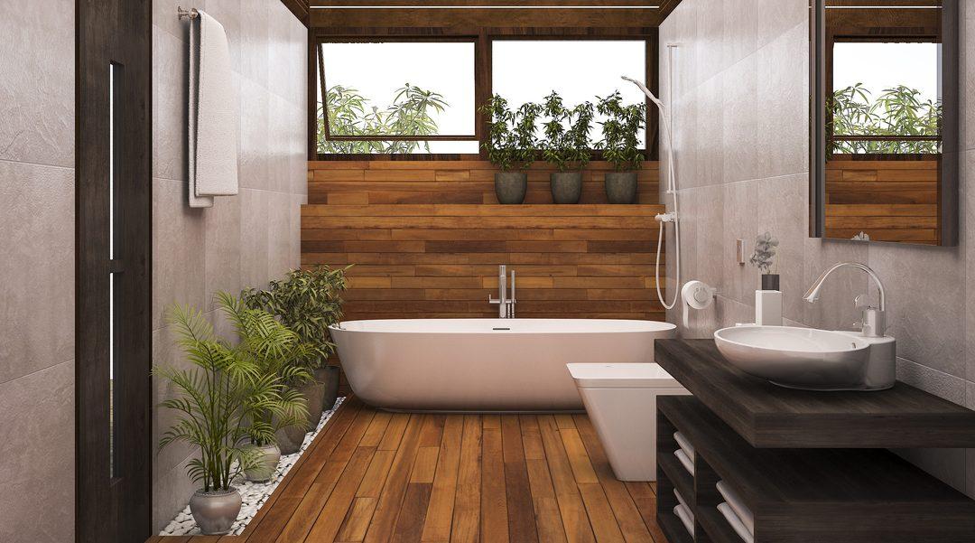 parket badkamer