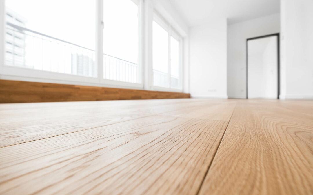 houten vloer egaliseren